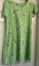 Cotton Connection cotton knit dress w/fish, starfish, size small
