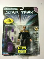 Star Trek 1701 Lt. Reginald Barclay Projections MOC 1996 Playmates Action Figure
