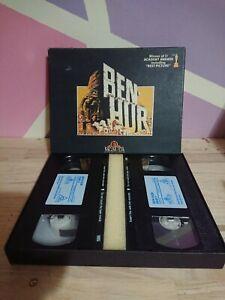 Vintage Ben Hur Motion Picture VHS in Collectors Case
