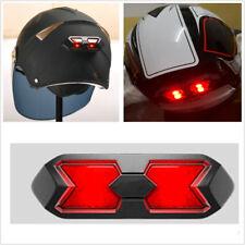 1Pcs Motorcycle Helmet Tail Light Night Light Strip Safety Signal Warning Light