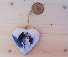 WALL HANGING METAL ANGEL HEART DECORATION VINTAGE GIFT