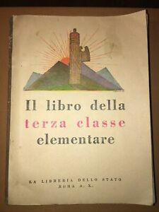 Il Libro della Terza Classe Elementare 1931