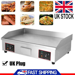 4400W Electric Griddle Kitchen Hot plate BBQ Grill Large Countertop Commercial