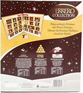 Ferrero Collection Christmas 2021 Advent Calendar 271.5G RAFELLO RONDNOIR