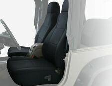 KING 4WD 97-02 Custom Fit Neoprene Seat Covers Black Black for Jeep Wrangler TJ
