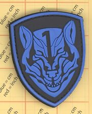 BLUE PVC WOLFPACK MEDAL OF HONOR MOH MBSS AOR1 ARMY TACTICAL Morale PATCH SWAT