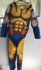 Kid's Wolverine Halloween Costume  Marvel Size Large 12 Boys NO MASK