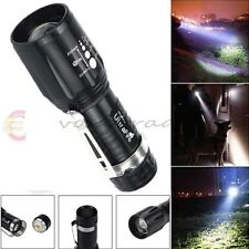 2200Lm CREE XM-L T6 LED Flashlight Luz Linterna Torch light Zoom High Power