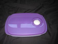 TUPPERWARE Crystalwave Microwave Safe Reheatable Rectangular Lunch Container Box