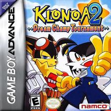 Klonoa 2: Dream Champ Tournament GBA New Game Boy Advance