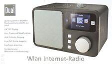 WLAN Internetradio Dual IR 4 WIFI Radio Fernbedienung Farbdisplay Schwarz