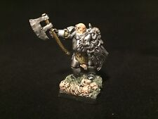Painted Miniature Barbarian Fighter Resin D&D Pathfinder Fantasy RPG Gaming