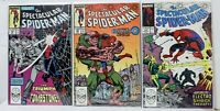 Marvel Spectacular Spiderman Lot 155 156 157 FN to FN/VF Buscema 1989 BOARDED