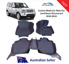 Land Rover Discovery 4 2010-2016 Full Surrounded Custom Made Floor Mats/Carpets