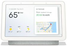 GOOGLE HOME HUB GA00516-US WITH GOOGLE ASSISTANT - CHALK - BRAND NEW SEALED BOX!
