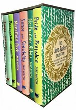 Jane Austen Collection 6 books Deluxe Box Set pack Pride and Prejudice, Emma NEW