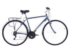 Biciclette ibridi argento