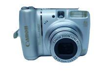 Canon PowerShot A580 8.0MP Digital Camera - Silver
