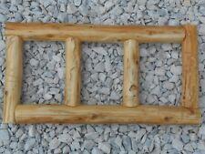 Rustic Cedar Log Picture Frame