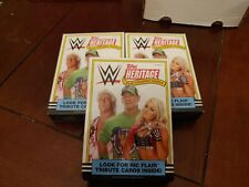 2018 Topps Heritage WWE Card Hanger Box. Box With 36 - 2018 WWE Wrestling Cards