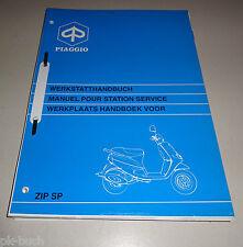 Manuale Officina/Werkplaatshandboek Piaggio Zip Sp 50 Ccm Stand 10/1996
