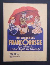 Protège cahier Entremets FRANCORUSSE dessert copybook cover Wachbuch