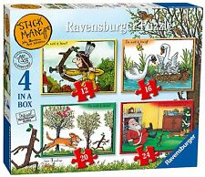 Stick Man - Ravensburger 4 in a Box Puzzles BRAND NEW
