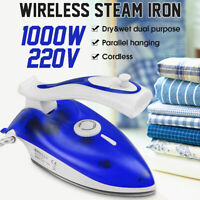 1000W Electric Steam Iron 5 Speed Clothes Ironing Steamer Garment Home  A*