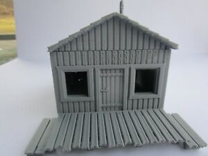 """(1) """" S """"  SCALE   """"BEACH HOUSE""""  """"SMALL HOUSE""""  COTTAGE  3D PRINTED  1/64  1:64"""