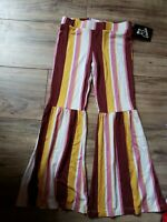 NEW Girls' Mid-Rise Knit Flare Pants - art class™ size small 6- 6x
