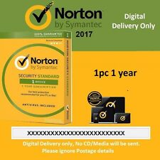 Norton Internet Security 1 PC- 1 Year - Digital Delivery/No CD