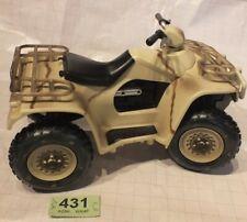 "HM Armed Forces Desert Quad Bike for 10"" Action Figure - HMAF - LOT XX431"