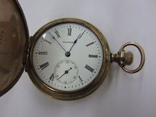 Antique AMERICAN WALTHAM WATCH CO. Pocket Watch Hunting Case 8893913