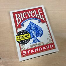 King of Spades One Way Force Deck RED Bicycle Professional Close Up Card Magic