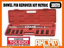 TOLEDO 301719 - DOWEL PIN REMOVER KIT METRIC - REMOVE WORN DAMAGED ALIGNMENT
