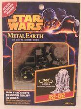 Metal Earth STAR WARS  R2-D2 3D Laser Cut Steel Model Kit ~ KNOCKOUT CRAFTS