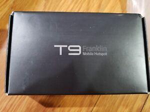T9 FRANKLIN MOBILE HOTSPOT BLK KIT ONLY: 33.99$