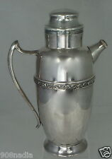 Vintage Art Deco Silver Plate Cocktail Shaker Rogers Silverplate Dynasty Pattern
