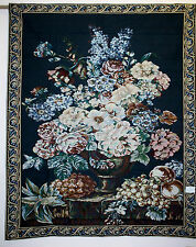 "Italian Terrace Design Wall Hanging Tapestry in Huge Size 36""H X 85""L"