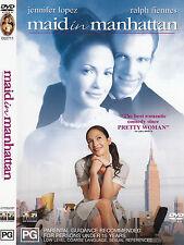 Maid In Manhattan-2002-Jennifer Lopez-Movie-DVD