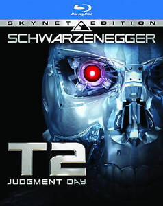 Terminator 2 - T2 Judgement Day Arnold Schwarzenegger SKYNET EDITION Blu-Ray DVD