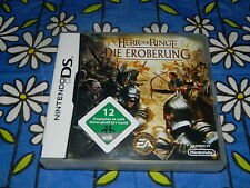 Nintendo DS - Herr der Ringe - Die Eroberung - komplett & top Zustand