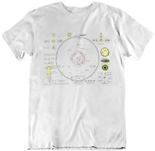 The Solar System Mens ORGANIC Cotton T-Shirt Retro Style Birthday Gift Present
