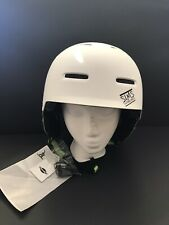 Sims Snowboard Helmet- White- Adult Large- New Open Box