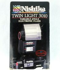 {New in Box} Nishika Twin Light 3010 Electronic Flash for N8000 35mm 3-D Camera