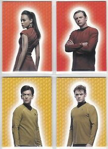 2014 Rittenhouse  Star Trek Into Darkness Foldout Cards You Pick Finish Your Set