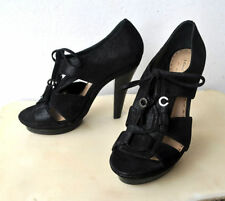 Block Leather Lace Up Sandals & Flip Flops for Women