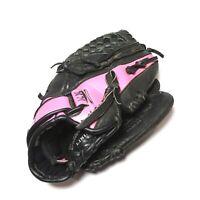 "Mizuno Youth GPP 1105 Prospect Finch Black PInk 11"" Leather Softball Glove RHT"