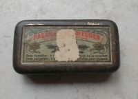 Vintage old French tin box RADIEUSES advertising France 50s drug drugstore