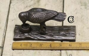 Woodpecker Cast Iron Door Knocker Vintage Door Knocker Industrial Door Knocker